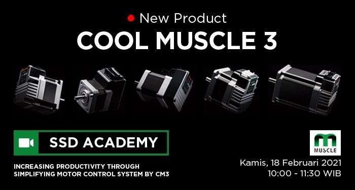 SSD Academy - Cool Muscle - CM3
